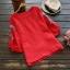 เสื้อเบลาส์ปักแต่งลายแขนสั้น (มีให้เลือก 4 สี) thumbnail 4