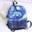 กระเป๋าเป้ผ้า Canvas พิมพ์ลาย (มีให้เลือก 3 ลาย) thumbnail 1
