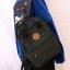 กระเป๋าเป้ผ้าขนสัตว์ลายตาราง (มีให้เลือก 2 สี) thumbnail 4