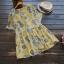 เสื้อเบลาส์ผ้าฝ้ายพิมพ์ลาย แขนสั้น (มีให้เลือก 3 สี) thumbnail 4