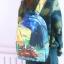 กระเป๋าเป้ผ้า Canvas พิมพ์ลาย (มีให้เลือก 3 ลาย) thumbnail 4