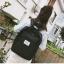 กระเป๋าเป้สะพายหลังผ้าฝ้าย (มีให้เลือก 4 สี) thumbnail 5