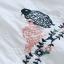 เสื้อเบลาส์คอกลมแขนสั้น ปักแต่งลายลูกไม้ (มีให้เลือก 2 สี) thumbnail 5
