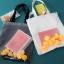 กระเป๋าถุงผ้า Canvas แต่งตุ๊กตาเป็ดยาง เย็บครอบ PVC ใส (มีให้เลือก 2 สี) thumbnail 1