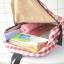 กระเป๋าเป้ผ้า Canvas ลายสก๊อต/ลายผ้าขาวม้า (มีให้เลือก 2 ทรง 3 สี) thumbnail 6