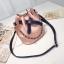 กระเป๋าสะพายข้างทรงขนมจีบ+กระเป๋าใส่ของแยกชิ้น (มีให้เลือก 4 สี) thumbnail 3