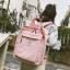 กระเป๋าเป้สะพายหลังผ้าฝ้าย (มีให้เลือก 4 สี) thumbnail 4