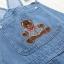เอี๊ยมกางเกงยีนส์ขาสั้น ปักลาย (มีให้เลือก 2 ไซส์) thumbnail 3
