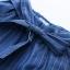 กางเกงยีนส์เอวยืด ขาบาน/คาดโบว์ (มีให้เลือก 2 สี 2 ไซส์) thumbnail 4