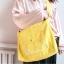 กระเป๋าสะพายข้างผ้า Canvas พิมพ์ลาย (มีให้เลือก 6 สี) thumbnail 2