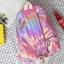 กระเป๋าเป้สะพายหลังหนังโฮโลแกรมปักลาย (มีให้เลือก 4 สี) thumbnail 8