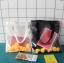 กระเป๋าถุงผ้า Canvas แต่งตุ๊กตาเป็ดยาง เย็บครอบ PVC ใส (มีให้เลือก 2 สี) thumbnail 3