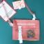 กระเป๋าสะพายข้างหนัง PU แต่งครอบ PVC ใส พิมพ์ลาย (มีให้เลือก 4 สี) thumbnail 4