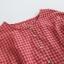เสื้อเบลาส์ลายสก๊อต แต่งชายลูกไม้ (มีให้เลือก 3 สี) thumbnail 4