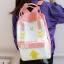กระเป๋าเป้ผ้า Canvas พิมพ์ลาย (มีให้เลือก 4 สี) thumbnail 4