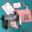 กระเป๋าสะพายข้างหนัง PU แต่งครอบ PVC ใส พิมพ์ลาย (มีให้เลือก 4 สี) thumbnail 2