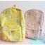 กระเป๋าเป้ผ้า Nylon พิมพ์ลายเครื่องเขียน (มีให้เลือก 4 สี) thumbnail 5