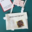 กระเป๋าสะพายข้างหนัง PU แต่งครอบ PVC ใส พิมพ์ลาย (มีให้เลือก 4 สี) thumbnail 6