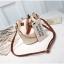 กระเป๋าสะพายข้างทรงขนมจีบ+กระเป๋าใส่ของแยกชิ้น (มีให้เลือก 4 สี) thumbnail 5