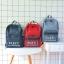 กระเป๋าเป้ผ้า Canvas พิมพ์แต่งลาย (มีให้เลือก 3 สี) thumbnail 7