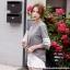 [PRE-KOREA] เสื้อยืดแต่งคอเสื้อพิมพ์ลายแถบแขนสั้น (มีให้เลือก 2 สี) thumbnail 3
