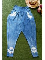 กางเกงผ้ายืดขาแล็คกิ้งขายาว Size:F