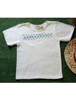 เสื้อยืดเด็กออแกนิค Stampกระเจี๊ยบ (อายุ6-7ขวบ)