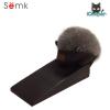 Semk - Hedgehogs Door Stopper (Black)