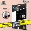Focus Tempered Glass 9H 3D Full Screen - Black (iPhone7/8)