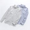 เสื้อเชิ้ตลายสก๊อตแขนยาว (มีให้เลือก 2 สี 3 ไซส์)