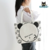 Canvas Handbag (Bear)