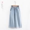 กางเกงยีนส์ขายาวเอวยืด (มีให้เลือก 2 ไซส์)