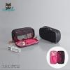 RONG.SHI.DAI Double Zip Make-Up (Black Pink)
