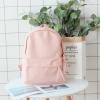 กระเป๋าเป้ผ้า Canvas (มีให้เลือก 4 สี )