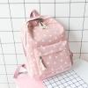กระเป๋าเป้ผ้า Canvas ลายแมว (มีให้เลือก 3 สี)