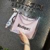 กระเป๋าสะพาย PVC โปร่งใส+ซองหนังใส่ของแยกชิ้น (มีให้เลือก 4 สี)