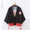 เสื้อคลุมญี่ปุ่นพิมพ์ลาย ร้อยเชือกแต่งพู่ (มีให้เลือก 2 สี)