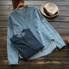 เสื้อยีนส์ (ผ้าเนื้อบาง) แขนยาว (มีให้เลือก 2 สี 2 ไซส์)