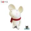 Semk - Mic Saving Bank (Rat Standing/White 20cm)