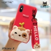 LOFTER Hello Meow Silicone - Red (iPhoneX)