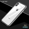 LOFTER Aluminium Bumper Tempered Glass - Silver (iPhoneX)
