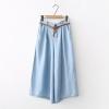 กางเกงยีนส์ขายาว เอวยืดขาบาน (มีให้เลือก 2 สี 3 ไซส์)