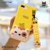 LOFTER Hello Meow Silicone - Yellow (iPhone7+/8+)