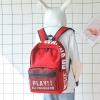 กระเป๋าเป้ผ้า Canvas พิมพ์แต่งลาย (มีให้เลือก 3 สี)