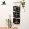 Cotton Hanging Bag (Black)