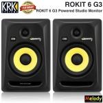 KRK ROKIT 6 G3 Powered Studio Monitor