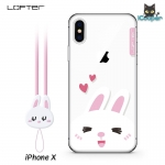 LOFTER Cartoon Cute - Rabbit (iPhoneX)