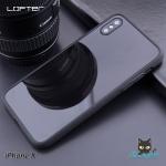 LOFTER TPU Mirror Case - Bright Black (iPhoneX)