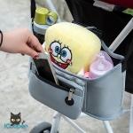 RONG.SHI.DAI Baby Stroller Hanging Bag (Gray)