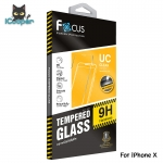 Focus Tempered Glass 9H Ultra Clear (iPhoneX)
